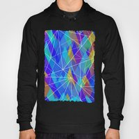 Colour Mountains Pattern Hoody