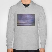 Rain storm at the sea Hoody