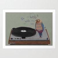 Dub-bird Art Print