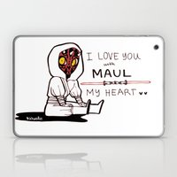 DARTH MAULENTINE Laptop & iPad Skin