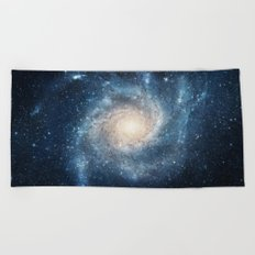 Spiral Galaxy Beach Towel