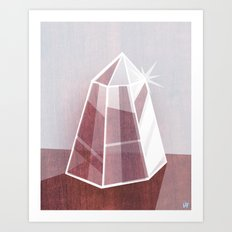 Little Quartz Art Print