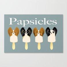 Papsicles Canvas Print