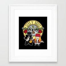 Gunsand-Roses Framed Art Print