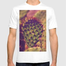 Gentle Thorns Mens Fitted Tee White SMALL