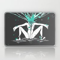 All Riled Up & Silent Laptop & iPad Skin