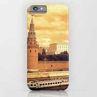iPhone & iPod Case featuring Moscow Kremlin by Amdis Rain