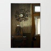 Farm house Canvas Print