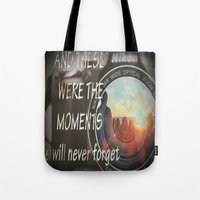 These Were The Moments Tote Bag