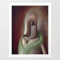 Three Hurt Feelings Last… Art Print