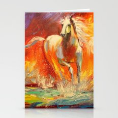 Horses Stationery Cards