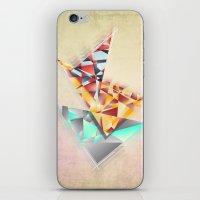 Triangle Rush! iPhone & iPod Skin