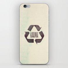 karma iPhone & iPod Skin