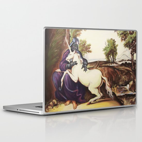 Vader and Unicorn Laptop & iPad Skin