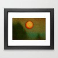 Morn - Textured Photography Framed Art Print