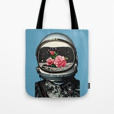 Spring Crop at the Rosseland Crater Tote Bag