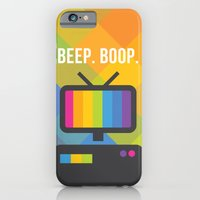 iPhone & iPod Case featuring Beep. Boop. by designbyash
