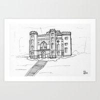 Baton Rouge Louisiana Ol… Art Print