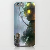 iPhone & iPod Case featuring Mr Bubbles strolling  by Tyler Edlin Art