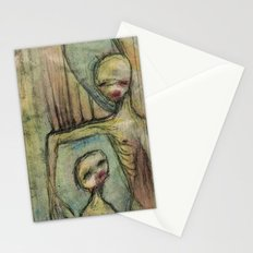 under my wing Stationery Cards