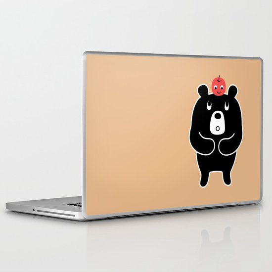 Apple Bear Laptop & iPad Skin