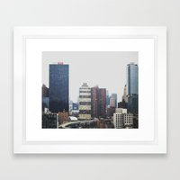 Midtown Manhattan Framed Art Print