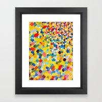 SWEPT AWAY 2 - Vibrant C… Framed Art Print