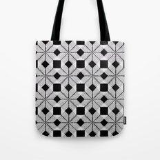 Silver Snow Tote Bag