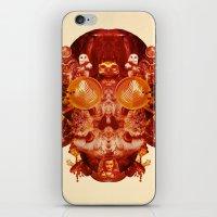 Coffee & Owls & Death iPhone & iPod Skin