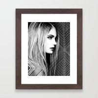 Desire Framed Art Print