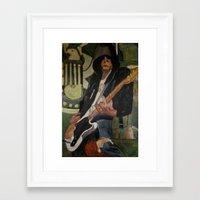 Johnny - ANALOG Zine Framed Art Print