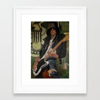 Johnny - ANALOG zine Framed Art Print