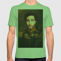 His Infernal Majesty Mens Fitted Tee Grass SMALL