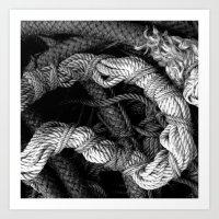 Rope. Art Print