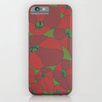 iPhone & iPod Case featuring Poppies by Astrid Fox