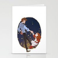 Little Amelia And Her Ra… Stationery Cards