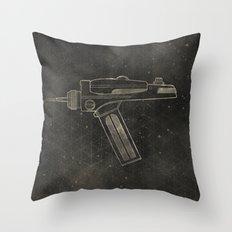 Set Phasers to Stun Throw Pillow
