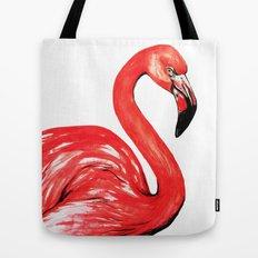 Delta The Flamingo Tote Bag