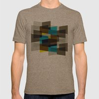 Aronde Pattern #03 Mens Fitted Tee Tri-Coffee SMALL