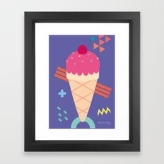 Ice Cream II Framed Art Print