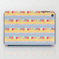 Beach Huts iPad Case