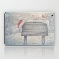 Winter Wonderland Birds  Laptop & iPad Skin