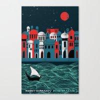 Scheherazade - Rimsky Ko… Canvas Print