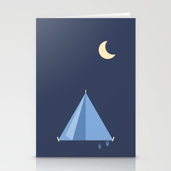 #83 Tent Stationery Card