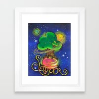 Tend To Your Baobabs Framed Art Print