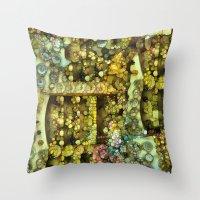 Baumgarten- ode to Klimt Throw Pillow