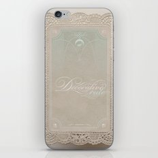 Decorative Rule iPhone & iPod Skin