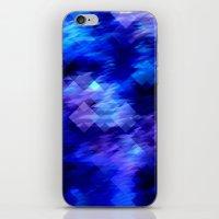 Anemone Wave Pixel iPhone & iPod Skin