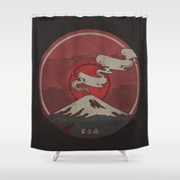 Fujisan Shower Curtain