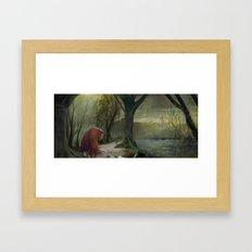Labyrinth, Ludo, The Labyrinth, Concept Art Framed Art Print